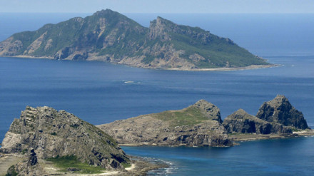 East China Sea - Senkaku Islands