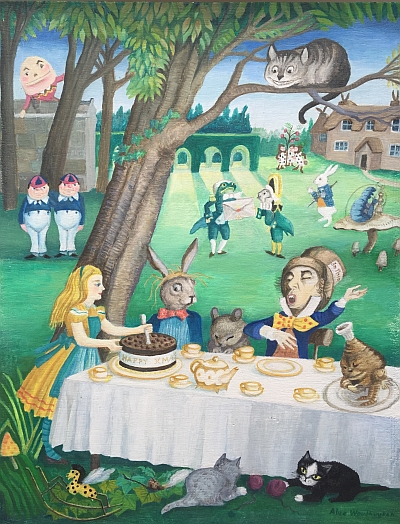 'The Mad Hatter's Tea Party' by Alice Woudhuysen, 2012