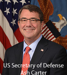 US Secretary of Defense, Ash Carter
